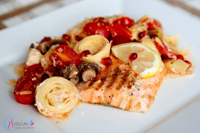 Salmon with Artichoke