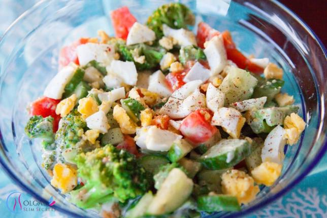 Broccoli and Egg Salad
