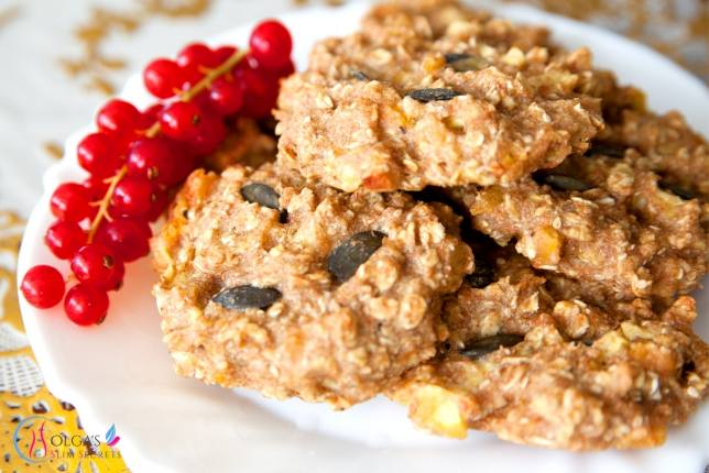 Apple Oatmeal Cookies (5 pieces)