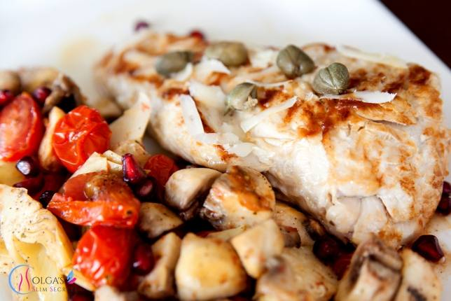 turkey fillet with artichokes