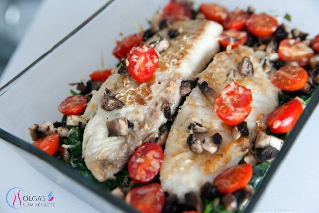 Spinach and Fish Casserole