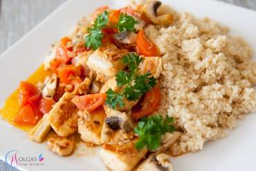 Couscous with Fish